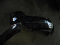 Бампер задний AUDI A8 2011> без хрома с фартуком