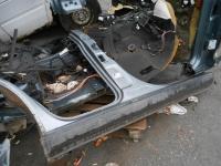 Порог правый со стойкой Volkswagen Touareg