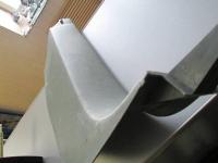 Облицовка передней правой стоки в ногах Touareg
