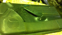 Обшивка двери правая Mercedes W203 купе