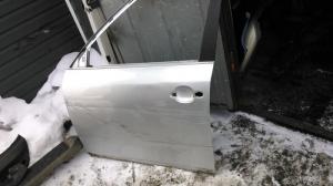 Дверь передняя левая Skoda Fabia 2007>