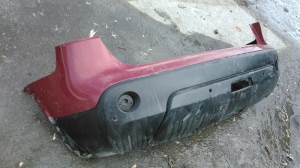 Задний бампер Nissan Qashqai (J11)