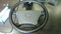 Рулевое колесо с подушкой безопасности W140 (коричневый)