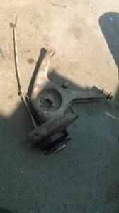 Рычаг задний правый W126 со ступицей