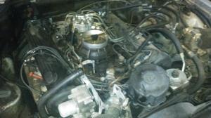 Двигатель M116965 4,2L с навесным