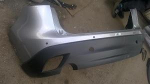 Бампер задний Мазда СХ-5 (серебро)