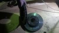 Комплект передних тормозных дисков W203